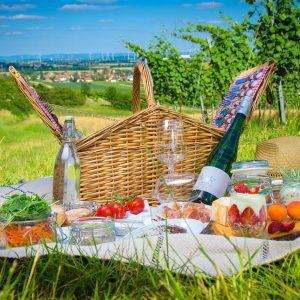 Picknick mit Ausblick
