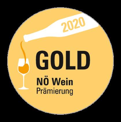 Goldmedaillie NÖ Wein Prämierung 2020